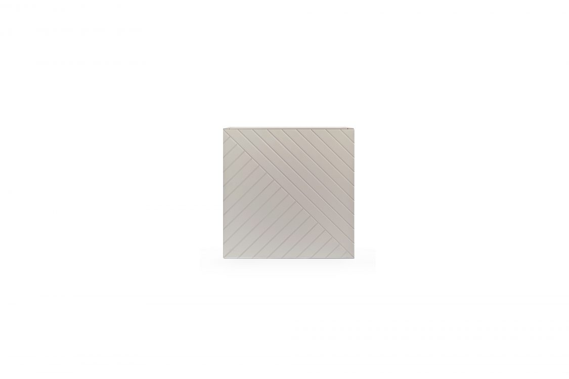 Warm grey cube